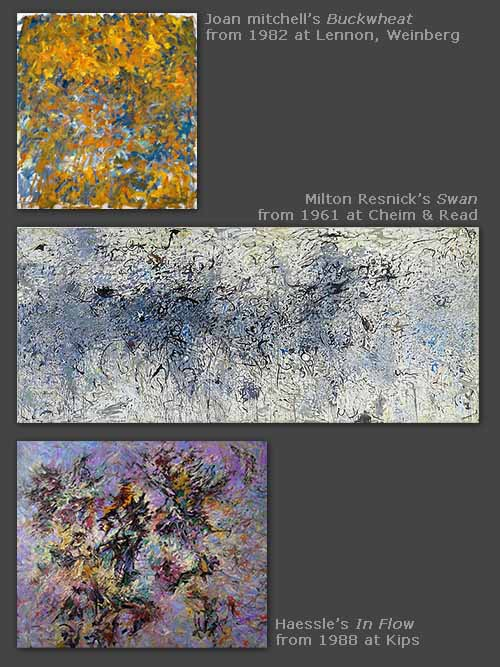Joan Mitchell, Milton Resnick, Haessle in Chelsea on W 25th Street