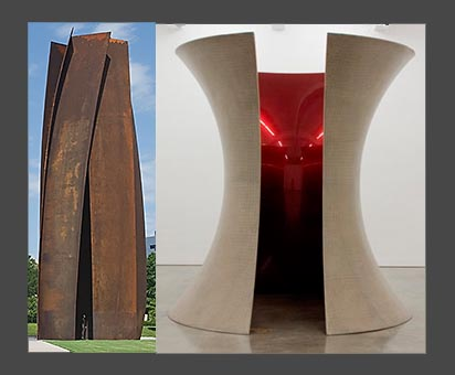 Richard Serra in Fort Worth, Anish Kapoor at Gladstone Gallery