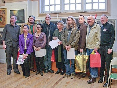Award Recipients at Absolutely Abstract 2008