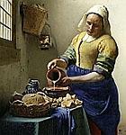 Vermeer's The Milkmaid @ The Met